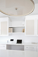 modern white desk Get A Room is a boutique in Scarsdale New York for interior design.