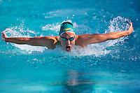 Santa Clara, California - Saturday June 4, 2016: Madeline Groves swims in the Women's 200 LC Meter Butterfly at the Arena Pro Swim Series at Santa Clara A final.