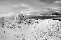 Cairn Lochan from the Central Cairngorm Plateau, Cairngorm National Park, Badenoch & Speyside