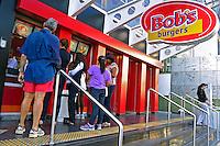 Lanchonete Bobs Burger na Avenida Paulista. Sao Paulo. 2012. Foto de Juca Martins.