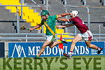 Philip Maunsell, Kilmoyley during the Kerry County Senior Hurling Championship Final match between Kilmoyley and Causeway at Austin Stack Park in Tralee