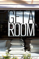 Get a room sign Get A Room is a boutique in Scarsdale New York for interior design.