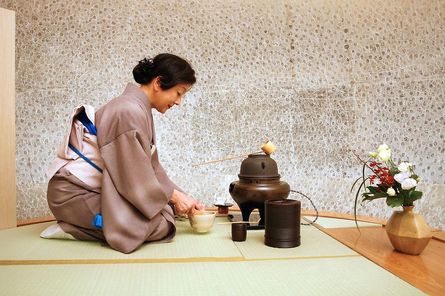 Tea ceremony experience at Yamazato - Hotel Okura Macau