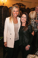 Michelle Shipman (left) and Mealanie Wilmott in good spirits