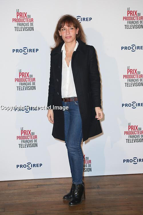JULIE DEBAZAC, PHOTOCALL 23EME PRIX DU PRODUCTEUR FRANCAIS DE TELEVISION AU TRIANON, PARIS, FRANCE, LE 13/03/2017.