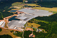 Aerial photo of Metrolina Greenhouse complex taken May 2008.
