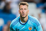 Goalkeeper Norberto Murara Neto of Valencia CF reacts during their La Liga 2017-18 match between Real Madrid and Valencia CF at the Estadio Santiago Bernabeu on 27 August 2017 in Madrid, Spain. Photo by Diego Gonzalez / Power Sport Images
