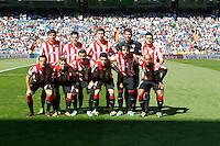 Athletic Club team during La Liga Match. September 01, 2013. (ALTERPHOTOS/Caro Marin) <br /> Football Calcio 2013/2014<br /> La Liga Spagna<br /> Foto Alterphotos / Insidefoto <br /> ITALY ONLY