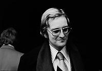 Debuts de la CECO, 15 fevrier 1973, en presence de Pacifique ''Pax' plante.<br /> <br /> PHOTO :  Agence Quebec Presse - Alain Renaud