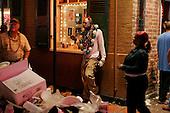 New Orleans, Louisiana.February 28, 2006..Last night of Mardi Gras on Bourbon Street.