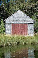 Boathouse, Cape Cod, Massachusetts, USA