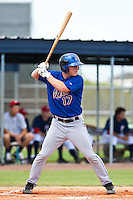 Robbie Shields of the Gulf Coast League Mets during the game against the Gulf Coast League Nationals June 27 2010 at the Washington Nationals complex in Viera, Florida.  Photo By Scott Jontes/Four Seam Images