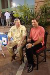 WPT announcers, Mike Sexton and Vince Van Patten.