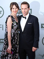 HOLLYWOOD, LOS ANGELES, CA, USA - JUNE 05: Emily Mortimer, Alessandro Nivola at the 42nd AFI Life Achievement Award Honoring Jane Fonda held at the Dolby Theatre on June 5, 2014 in Hollywood, Los Angeles, California, United States. (Photo by Xavier Collin/Celebrity Monitor)