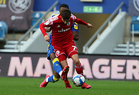 Paul Kalambayi of AFC Wimbledon tackles Tom Allan of Accrington Stanley during AFC Wimbledon vs Accrington Stanley, Sky Bet EFL League 1 Football at The Kiyan Prince Foundation Stadium on 3rd October 2020