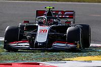 10th October 2020, Nuerburgring, Nuerburg, Germany; FIA Formula 1 Eifel Grand Prix, Qualifying sessions;  20 Kevin Magnussen DEN, Haas F1 Team