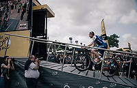 Daniel Martin (IRE/QuickStep Floors) up the sign-on podium<br /> <br /> 104th Tour de France 2017<br /> Stage 3 - Verviers › Longwy (202km)