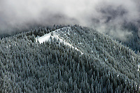 Clearing winter storm, Sangre de Cristo mountains. Jan 2013