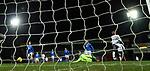 23.12.2020 St Johnstone v Rangers: Glen Kamara beats St Johnstone keeper Zander Clark to score the second Rangers goal