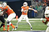 SAN ANTONIO, TX - NOVEMBER 24, 2018: The University of Texas at San Antonio Roadrunners fall to the University of North Texas Mean Green 24-21 at the Alamodome. (Photo by Jeff Huehn)