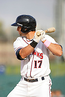 May 9, 2010: Mark Ori of the Lancaster JetHawks during game against the Inland Empire 66'ers at Clear Channel Stadium in Lancaster,CA.  Photo by Larry Goren/Four Seam Images