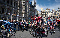 defending champion Geraint Thomas (GBR/Ineos) at the 2019 TdF departure in Brussels<br /> <br /> Stage 1: Brussels to Brussels(BEL/192km) 106th Tour de France 2019 (2.UWT)<br /> <br /> ©kramon