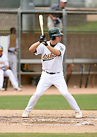 Dusty Coleman / Oakland Athletics 2008 Instructional League..Photo by:  Bill Mitchell/Four Seam Images