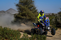 3rd January 2021, Jeddah, Saudi Arabia;  #168 Pedemonte Italo (chl), Yamaha, Enrico Racing Team, Quad, action during the 1st stage of the Dakar 2021 between Jeddah and Bisha, in Saudi Arabia on January 3rd 2021