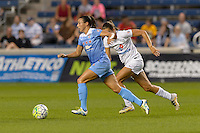 Chicago, IL - Wednesday Sept. 07, 2016: Vanessa DiBernardo during a regular season National Women's Soccer League (NWSL) match between the Chicago Red Stars and FC Kansas City at Toyota Park.