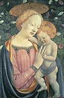 Madonna & Child  ca. 1450  Domenico Veneziano (ca. 1400-1461Italian)