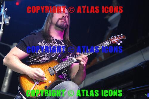 John Petrucci Guitarist of Dream Theater Performs in New York City
