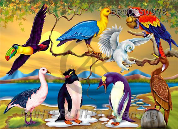 Alfredo, CUTE ANIMALS, puzzle, paintings(BRTO50978,#AC#) illustrations, pinturas, rompe cabeza