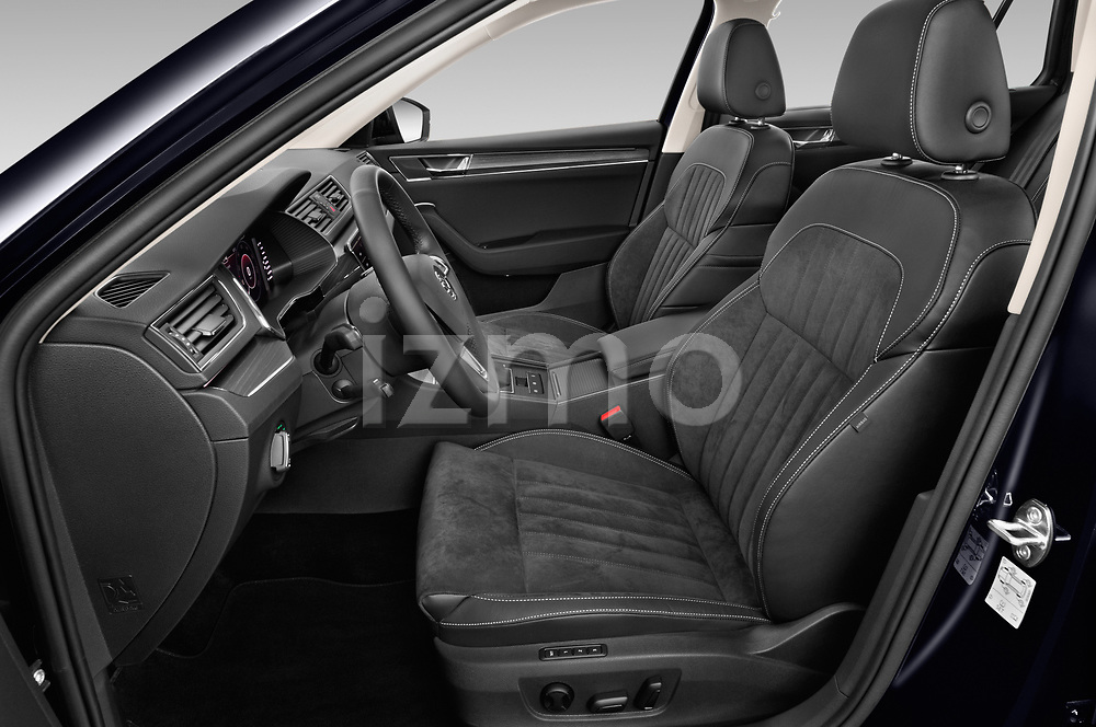 Front seat view of 2020 Skoda Superb 5 Door Wagon Front Seat  car photos
