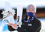 FIS Alpine Ski World Cup - Covid-19 Outbreak -  4th Men's Giant Slalom on 20/12/2020 in Alta Badia, Italy. French Alexis Pinturault (FRA) wins the race. At the finish