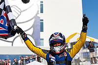 #23 Gilbert/Korthoff MotorSports Norma M30, LMP3: Mike Skeen, Checkered Flag