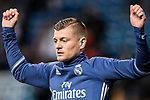 Toni Kroos of Real Madrid in training prior to the La Liga match between Real Madrid and Real Betis at the Santiago Bernabeu Stadium on 12 March 2017 in Madrid, Spain. Photo by Diego Gonzalez Souto / Power Sport Images