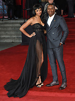"Leslie Odom Jr. and Nicolette Robinson<br /> at the ""Murder on the Orient Express"" premiere held at the Royal Albert Hall, London<br /> <br /> <br /> ©Ash Knotek  D3344  03/11/2017"