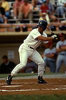 Lynchburg Red Sox infielder John Malzone during a game versus the Salem Buccaneers at Lynchburg City Stadium in Lynchburg, Virginia during the summer of 1992.  (Ken Babbitt/Four Seam Images)