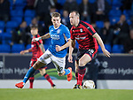 Dave Mackay Testimonial: St Johnstone v Dundee…06.10.17…  McDiarmid Park… <br />Charlie Adam and David Wotherspoon<br />Picture by Graeme Hart. <br />Copyright Perthshire Picture Agency<br />Tel: 01738 623350  Mobile: 07990 594431