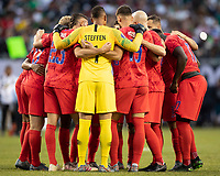 CHICAGO, IL - JULY 7: USA team during a game between Mexico and USMNT at Soldiers Field on July 7, 2019 in Chicago, Illinois.