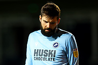 23rd February 2021; Kenilworth Road, Luton, Bedfordshire, England; English Football League Championship Football, Luton Town versus Millwall; A dejected Bartosz Białkowski of Millwall after they fall behind