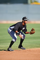 Chicago White Sox Lenyn Sosa (1) during an Instructional League game against the Cincinnati Reds on October 11, 2016 at the Cincinnati Reds Player Development Complex in Goodyear, Arizona.  (Mike Janes/Four Seam Images)