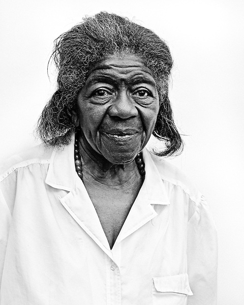 June 8, 2010. Chapel Hill, North Carolina.. As the controversial Greenbridge development gets ready to open June 15, members of the Northside neighborhood tell their story.. Velma Perry, 89 years old, has lived in the home her father bulit on Lindsay Street in Northside since she was 2.