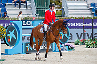 USA-Michael Hughes rides Maya - S during the Negrita Cup. 2021 ESP-Longines FEI Jumping Nations Cup Final. Real Club de Polo, Barcelona. Spain. Friday 1 October 2021. Copyright Photo: Libby Law Photography