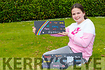 Faye Carroll Kilcummin who has been leaving positive messages on slates on her walking routes during the lockdown