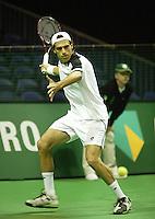 18-2-06, Netherlands, tennis, Rotterdam, ABNAMROWTT, Qualifying round, Alex Calatrava