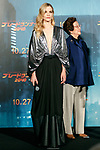 Actress Sylvia Hoeks attends a Japan Premiere for the film Blade Runner 2049 on October 24, 2017, Tokyo, Japan. Hoeks, along with actor Harrison Ford, director Denis Villeneuve and actress Ana de Armas, greeted the fans at the event. The movie Japanese theaters on October 27. (Photo by Rodrigo Reyes Marin/AFLO)