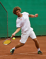 13-08-13, Netherlands, Raalte,  TV Ramele, Tennis, NRTK 2013, National Ranking Tennis Champ,  Sabastiaan Bonaparte<br /> <br /> Photo: Henk Koster