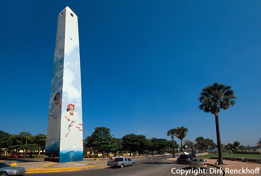 Dominikanische Republik, Obelisk Obelisco Hembra in Santo Domingo