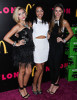 WEST HOLLYWOOD, CA - DECEMBER 05: Millie Thrasher, Summer Reign, Celine Polenghi of Sweet Suspense arriving at the Nylon Magazine December 2013/January 2014 Cover Launch Party held at Quixote Studios on December 5, 2013 in West Hollywood, California. (Photo by Xavier Collin/Celebrity Monitor)